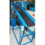 """Steel Inclined Chute 72"""" Long x 14"""" Wide lower Height 38"""" Upper Height 61"""""""