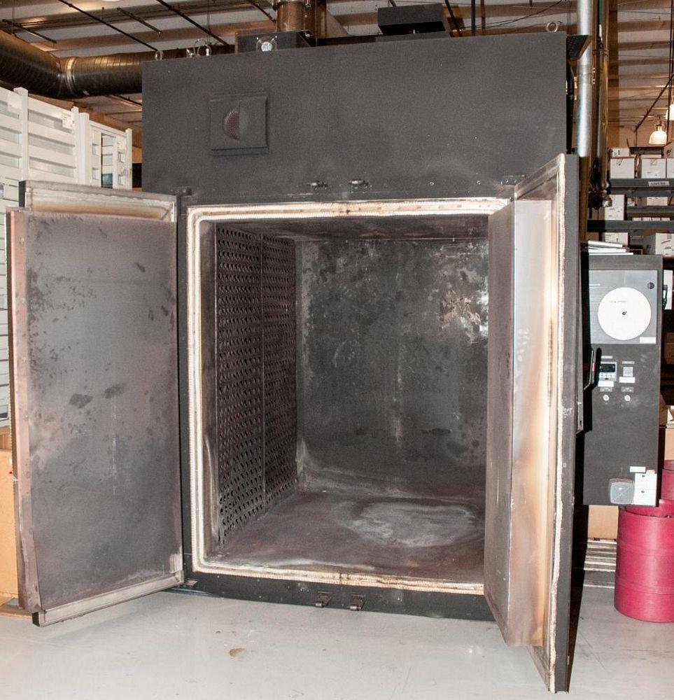 TPS Gruenberg Model T120h150.0 G, Heat Treat Oven. 15 CU Ft., Temp. Limit 1200F, 460v 3ph, Approx. E - Image 4 of 4
