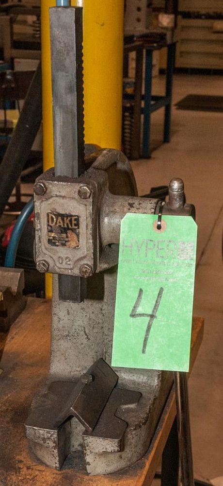 Dake Arbor Press No. 0