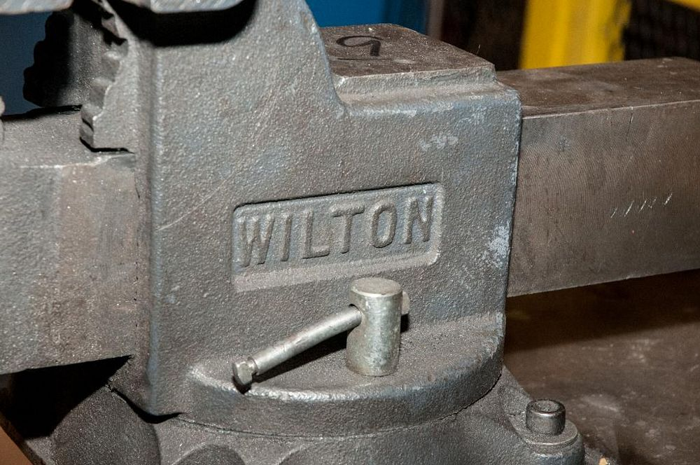 """Wilton Bench Vice 6"""" Jaws - Image 2 of 2"""