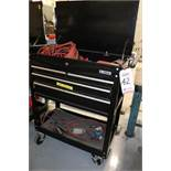 US GENERAL TOOL BOX W/ CONTENTS