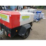INGERSOLL RAND 731 COMPRESSOR YEAR 2011 SN:UN5731EFXBY322081. WHEN TESTED WAS SEEN TO RUN AND MAK