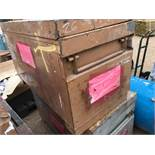 2 X RIGID 4824 JOBMASTER TOOL BOXES, NO KEYS