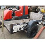 SINGLE AXLED TRAILER