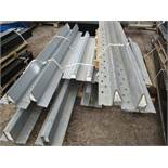 LARGE QUANTITY OF GALVANISED LINTELS