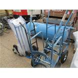 2 X SACKBARROWS PLUS 2 X BARREL TROLLEYS....EX COMPANY LIQUIDATION