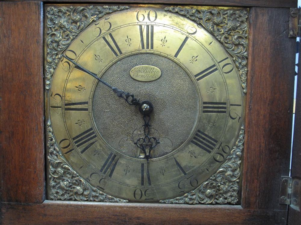 18TH CENTURY OAK 30 HOUR LONGCASE CLOCK by Edward Bilbie of Chew Stoke, - Image 3 of 10