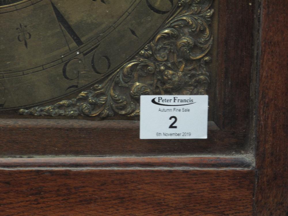 18TH CENTURY OAK 30 HOUR LONGCASE CLOCK by Edward Bilbie of Chew Stoke, - Image 2 of 10
