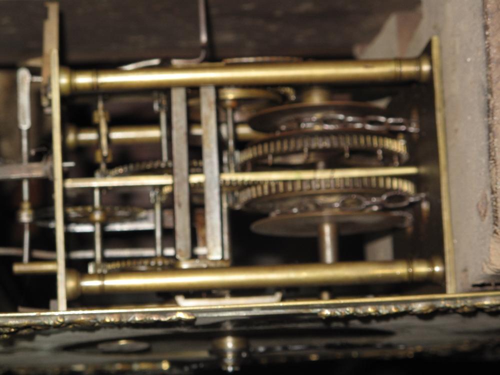 18TH CENTURY OAK 30 HOUR LONGCASE CLOCK by Edward Bilbie of Chew Stoke, - Image 6 of 10