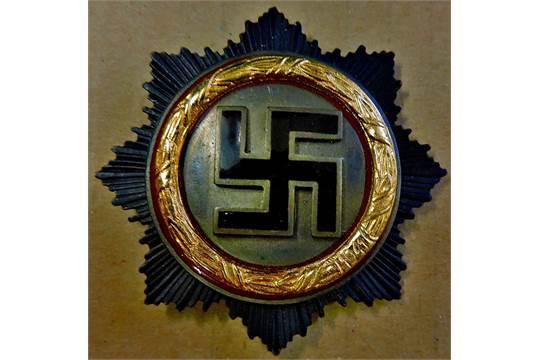 German Cross in Gold (Deutsches Kreuz) Gustav Brehmer