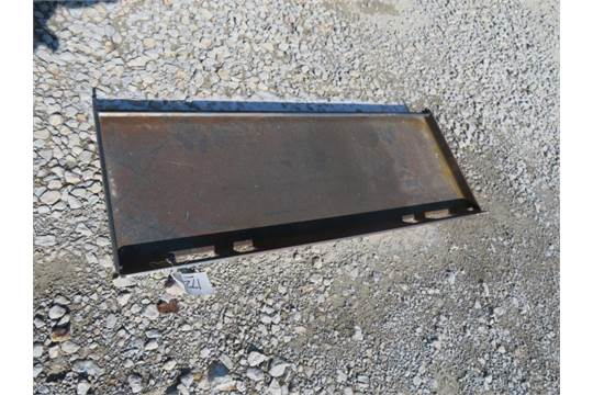 universal quick attach plate Brute brand skid steer attachment