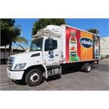 2018 Hino refrigerated truck