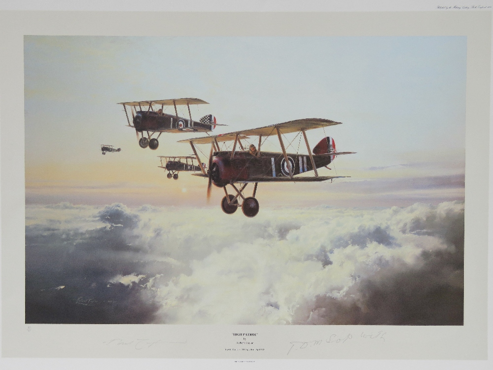 Lot 43 - Limited Edition print; 'High Patrol' by Robert Taylor, No 7 of 12,