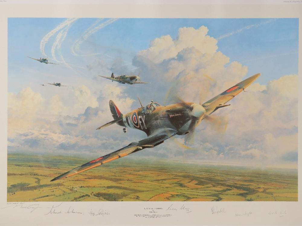 Lot 18 - Artists Proof print: ' After the Battle' by Robert Taylor, No 47 of 100,