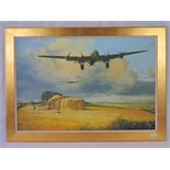 Lot 70 - Limited Edition print; 'Last Flight Home' by Robert Taylor, No 3 of 50, framed, 60 x 90.5cm.
