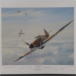 Lot 30 - Limited Edition print; 'A Grand Aircraft' by Geoff Hunt, No 343 of 950,