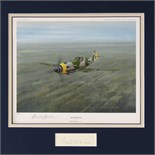 Lot 36 - Artist Proof print; 'Hartman' by Gerald Coulson, No 7 of 100 and signed Erich Hartman under,