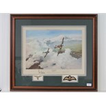 Lot 28 - Print; 'Duel of Evils' by Robert Taylor,