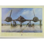 Lot 13 - Limited Edition print; 'Outrun the Thunder' by John Shaw, No 204 of 500,