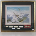 Lot 21 - Print; 'Spitfire' by Robert Taylor,