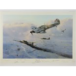 Lot 12 - Presentation Copy print; 'Hurricane Force' by Robert Taylor,