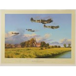 Lot 17 - Limited Edition print; 'Gathering Storm' by Robert Taylor, No 969 of 1250,