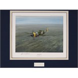 Lot 33 - Artist Proof print; 'Hartman' by Gerald Coulson, No 8 of 25 and signed Erich Hartman under,