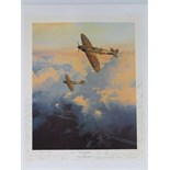 Lot 45 - Limited Edition print; 'Sigh of the Merlin' by Robert Taylor 212 of 750,
