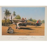 Lot 51 - Limited Edition print; 'Preparing for Action' by Robert Taylor, No 3 of 25,