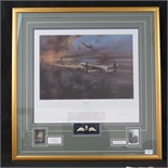 Lot 15 - Print; 'The Dambusters' by Robert Taylor,