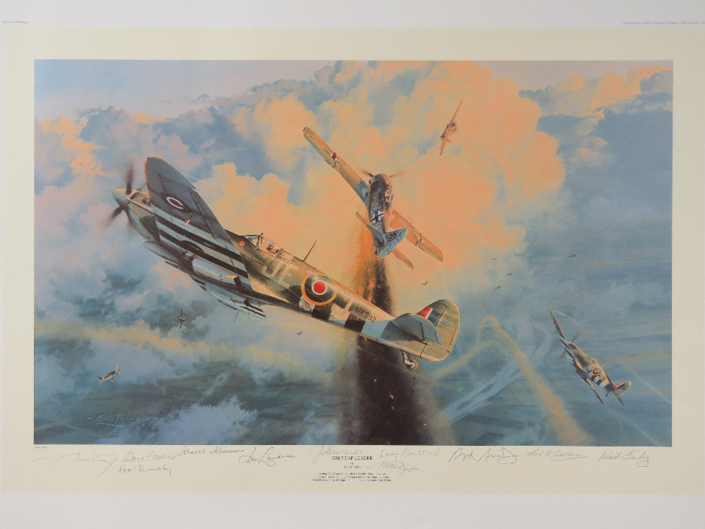 Lot 20 - Limited Edition print: 'Grey Cap Leader' by Robert Taylor, No 664 of 850,