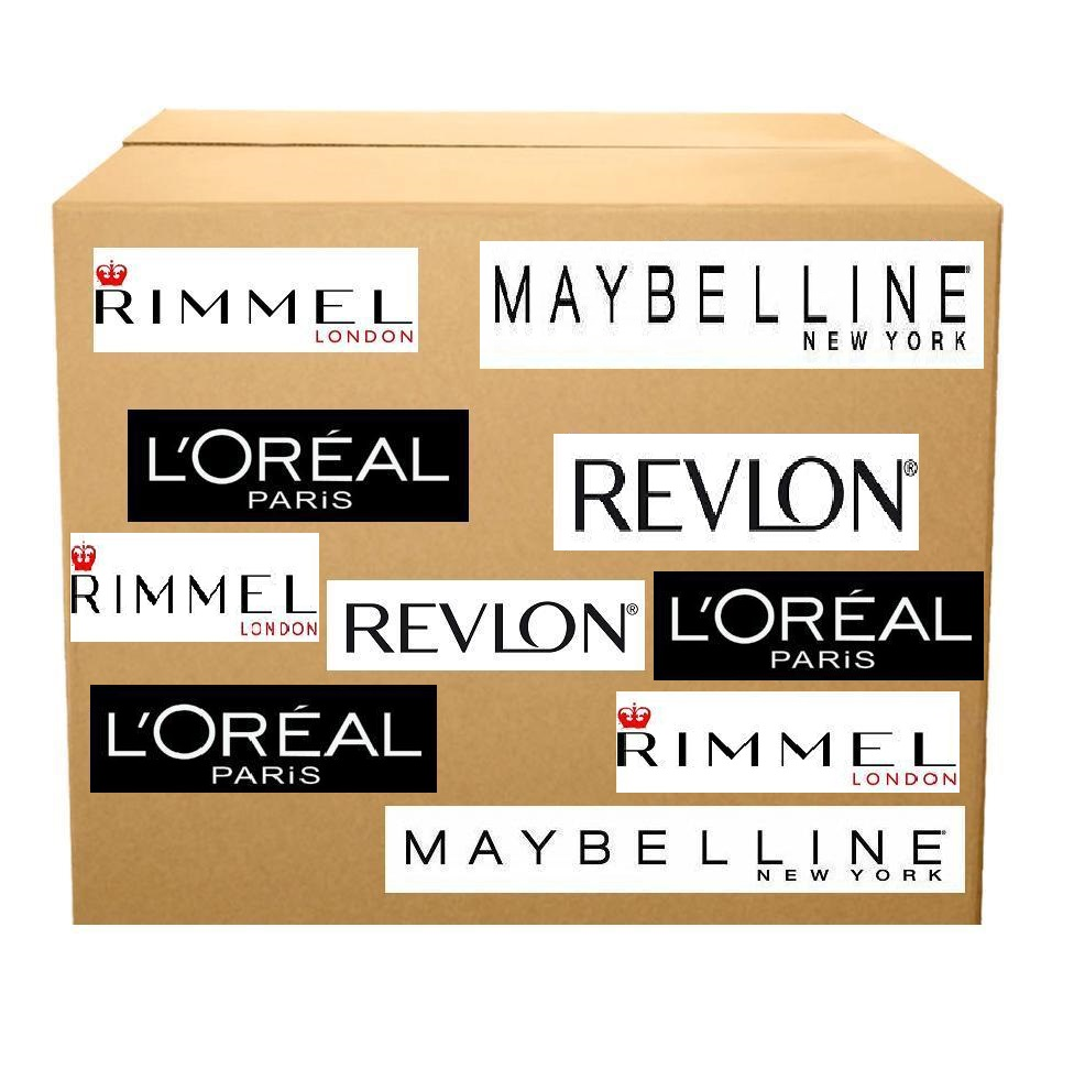 Lot 43 - 1000 Mixed Cosmetics – Full Sized – 10 Different SKU'sIncludes: Loreal, Maybelline & Revlon Brands