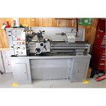 "Lot 9 - ENGINE LATHE, VECTRAX 14"" X 40"" MDL. 82837915, new 2007, spds: 70-1500 RPM, geared head, English/"