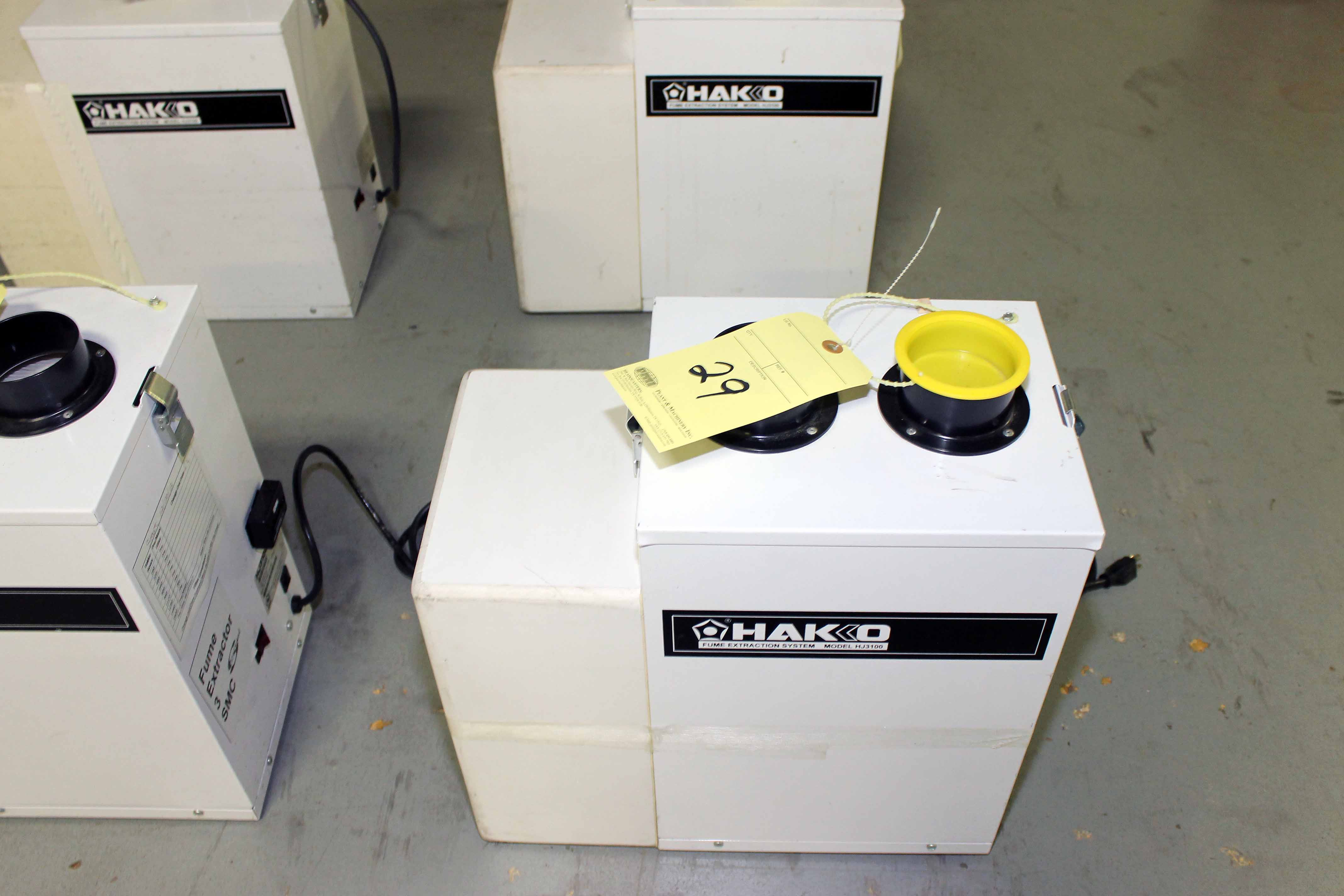 Lot 29 - FUME EXTRACTOR, HAKO MDL. HJ3100 (Location 2 - Fallstone A)