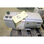 ROTARY VANE VACUUM PUMP, EDWARDS MDL. RV-8 (Location 2 - Fallstone A)