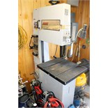 Lot 11 - VERTICAL BANDSAW, MSC, blade welder/grinder, S/N N.A. (Location 4 - Park Row)