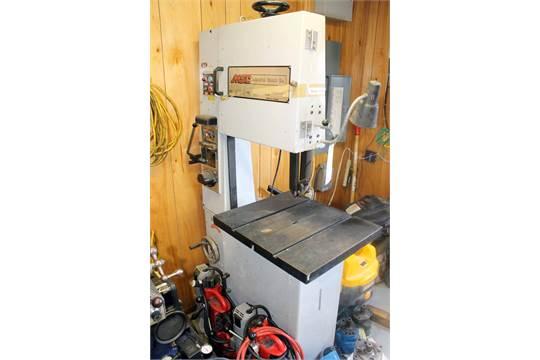 VERTICAL BANDSAW, MSC, blade welder/grinder, S/N N A