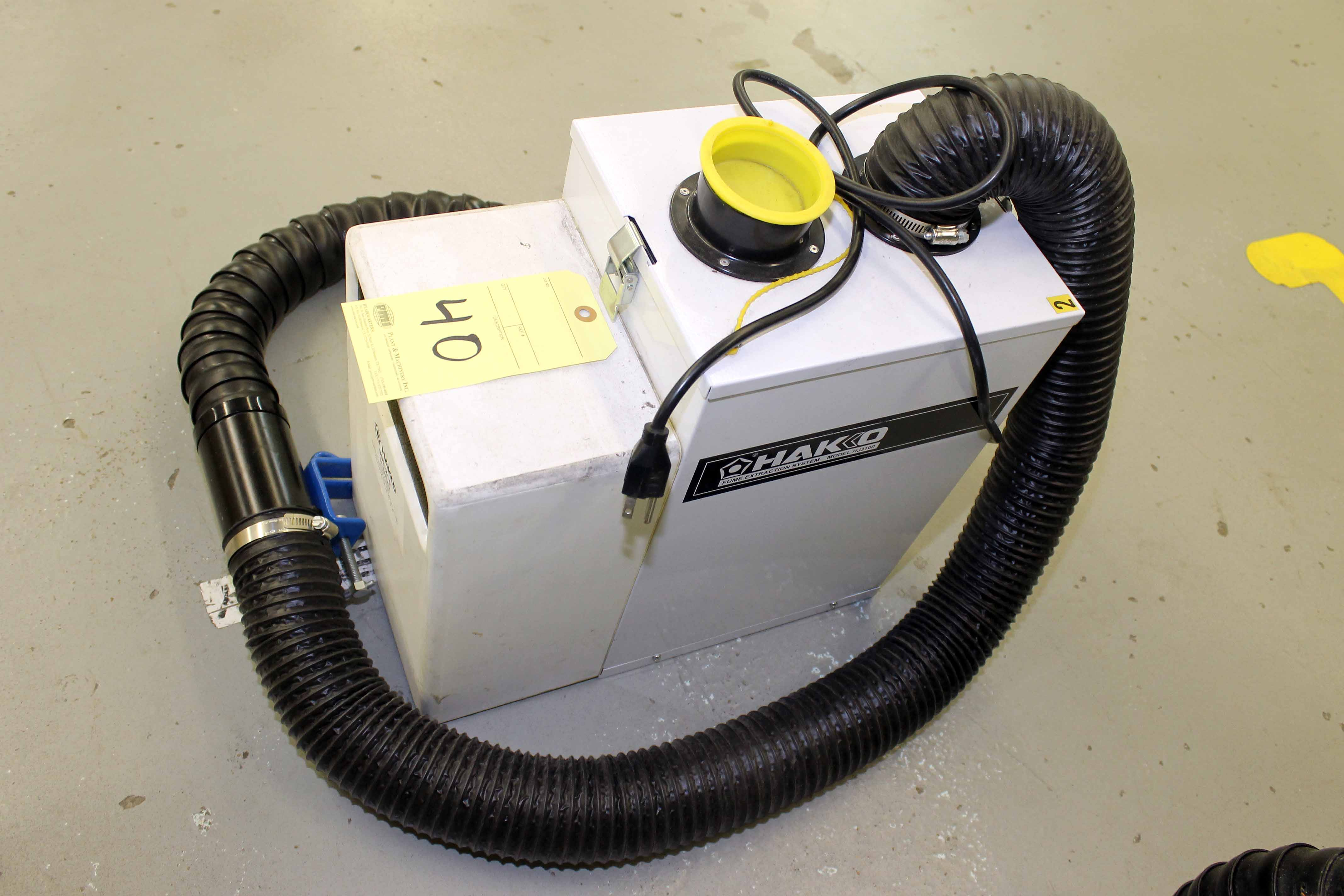 Lot 40 - FUME EXTRACTOR, HAKO MDL. HJ3100 (Location 2 - Fallstone A)