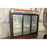 REFRIGERATED STORAGE/DISPLAY CASE, TRUE, 3-door (Location 2 - Fallstone A)