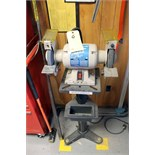 "DOUBLE END PEDESTAL GRINDER, WESTWARD 8"" MDL. 4TM71 (Location 4 - Park Row)"