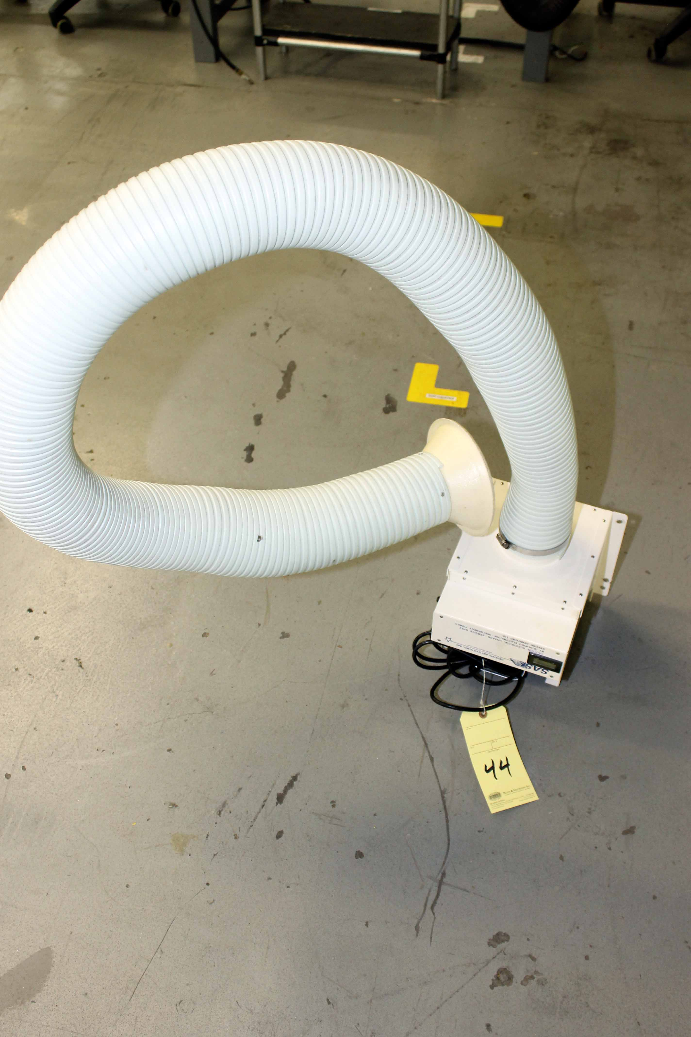Lot 44 - FUME EXTRACTOR, SAS MDL. FS-200-XKN (Location 2 - Fallstone A)