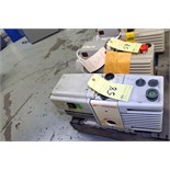 Lot 58 - ROTARY VANE VACUUM PUMP, EDWARDS MDL. RV-8 (Location 2 - Fallstone A)
