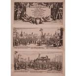 Jacques Callot (French 1592-1635)De Droeve Ellendigheden van den Oorloogh18 engravings including