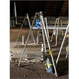 Capital Safety Tripod Chain Hoist, S/N #084061, Model #3400115, DOM = 2007