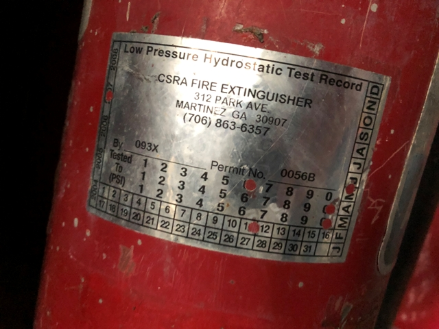 Buckeye Fire Extinguisher, Qty. 5 - Image 5 of 5