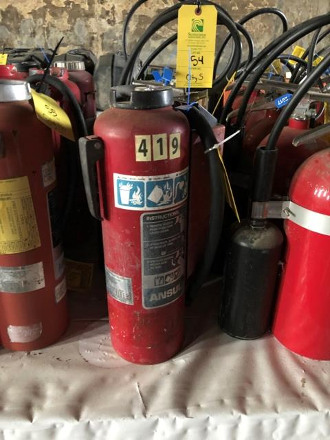 Buckeye Fire Extinguisher, Qty. 5 - Image 4 of 5