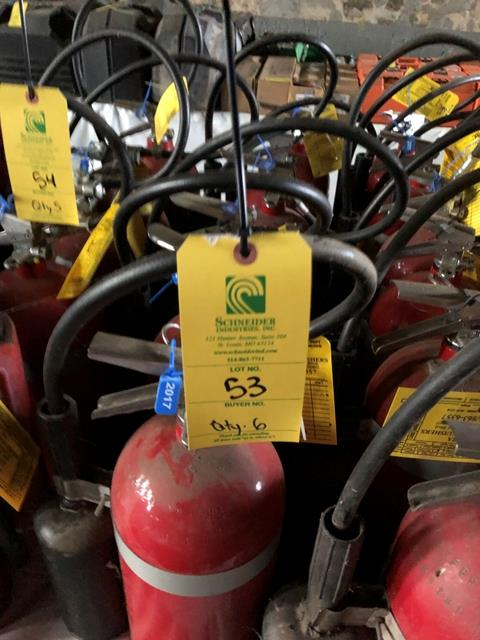 Buckeye Fire Extinguisher, Qty. 6 - Image 2 of 2