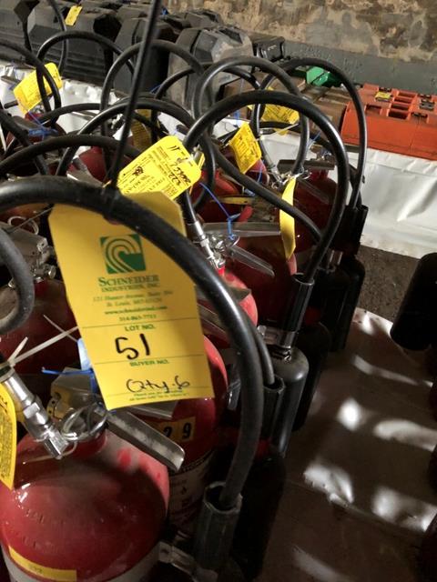 Buckeye Fire Extinguisher, Qty. 6 - Image 2 of 4