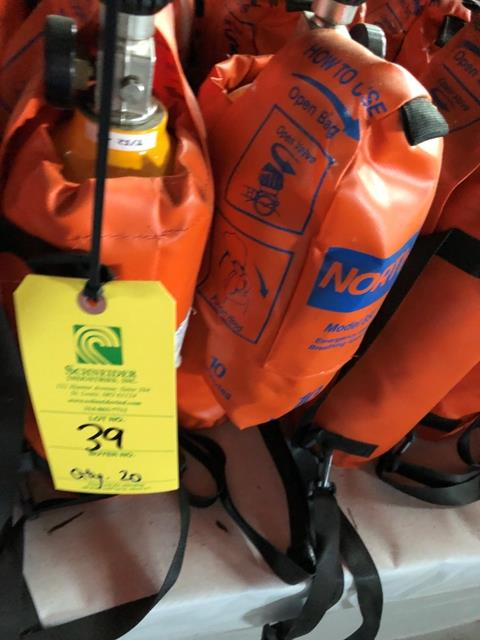 Open Circuit, Continous Flow Self Contained Breathing Apparatus, From North Safety Products, Qty. - Image 2 of 2