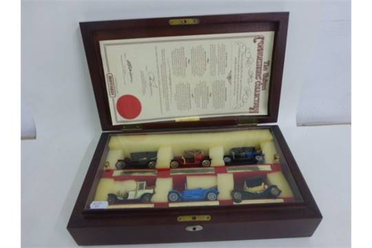 Limited Edition Cased Matchbox Models of Yesteryear